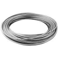 Câble inox 4mm - au mètre de Générique - Suspension - Catégorie Suspension