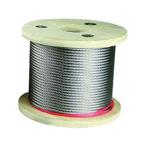 Câble inox souple - Diamètre : 4 mm - ITAR