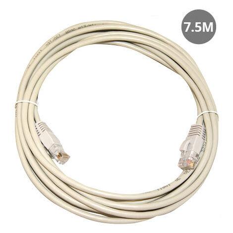 Cable Internet conexión UTP CAT 5e 7.5M