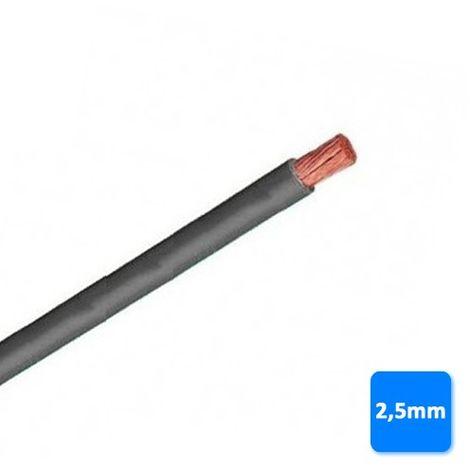 Cable libre de halógenos 2,5mm gris POR METROS H07Z1-K AS 750V