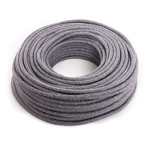 Cable Lona Gris Claro 2X0,75 X 1M [AM-AX540] (AM-AX540)