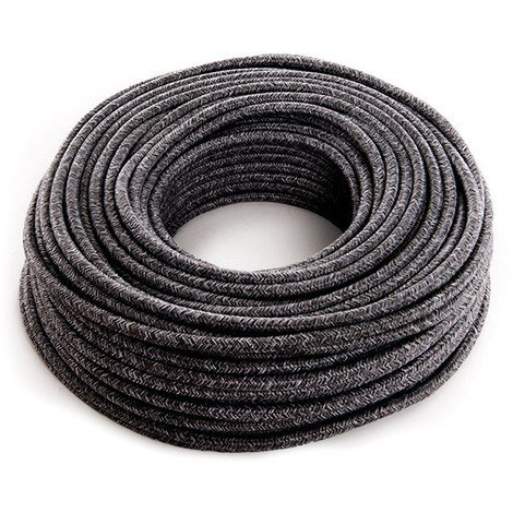 Cable Lona Gris Oscuro 2X0,75 X 1M [AM-AX548] (AM-AX548)