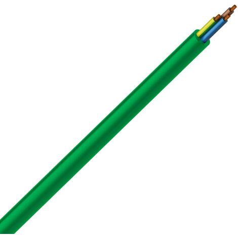Cable Manguera 3 x 2.5mm² Libre Halógenos Verde - Unidad de medida: 1m