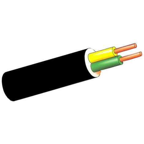 Cable Manguera Negra 100mt - SEDILES - ACRILICA/FLEX - 2X1 MM