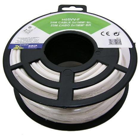 Cable manguera redonda H05VV-F 2x1