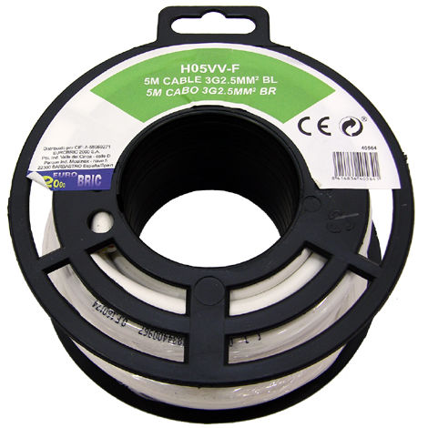 Cable manguera redonda H05VV-F 3G2,5