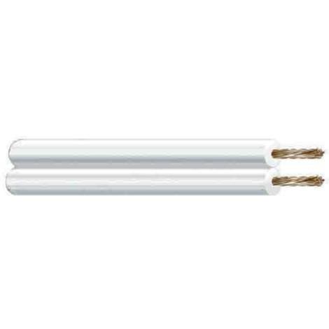 Cable paralelo transparente audio -Disponible en varias versiones