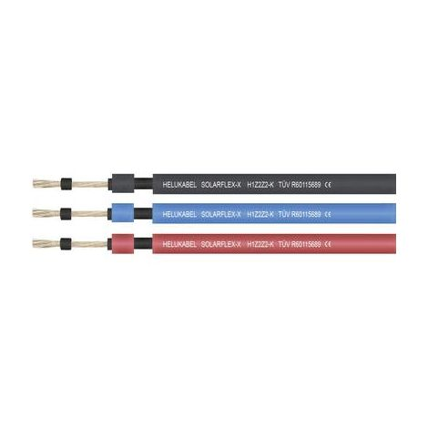 Câble photovoltaïque SOLARFLEX®-X H1Z2Z2-K Helukabel 713545 1 x 4 mm² rouge au mètre