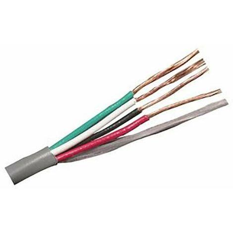 Câble pour ruban LED RBG (4 fils)   1m