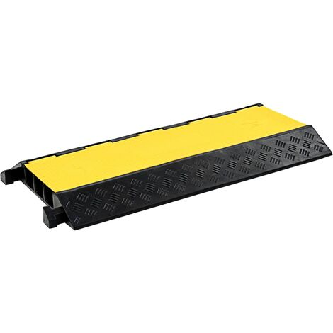 Cable Protector Ramp 3 Channels Rubber 93 cm