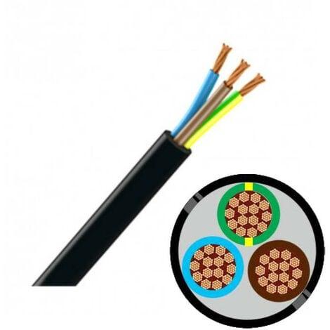 Câble R2V 3G 16 mm² - Au mètre