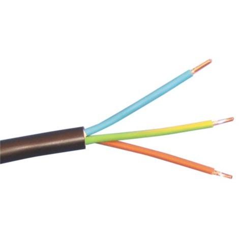 Câble R2V - Au mètre - 3G1,5 ou 3G2,5