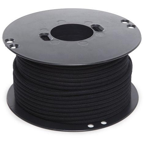 Cable Redondo Negro 2X0,75 X 1M [AM-AX315] (AM-AX315)