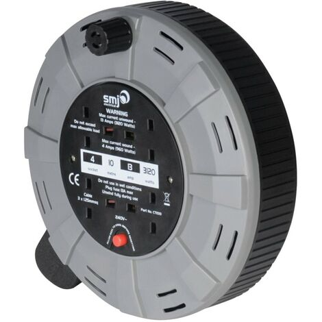 Cable Reels, 2- or 4-Socket