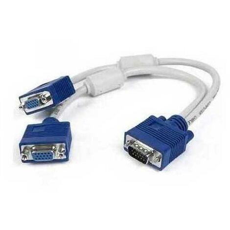 Cable repartiteur d'ecran VGA