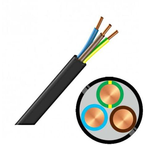 Câble RO2V 3G 4 mm² au mètre