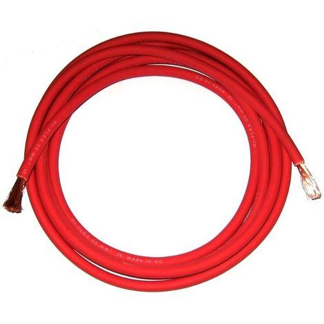 """main image of """"Câble soudage souple 50 mm² Rouge vente au mètre"""""""
