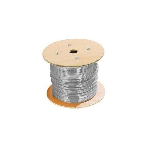 Câble souple 3G4mm² gris H05VVF pour alimentation électrique (Touret de 500m) PROTEC H05VVF3G4G
