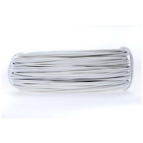 "main image of ""Câble souple blanc - 3G2,5 mm² - bobine"""