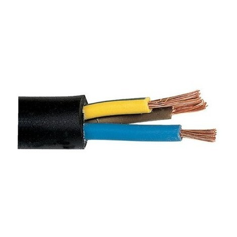 Câble souple industriel H07 RN-F noir - Lynelec