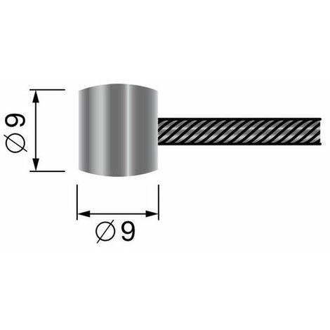 Cable souple tonneau universel 2500mm