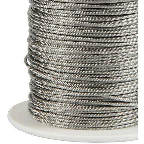 Cable suspensión, bobina 100m