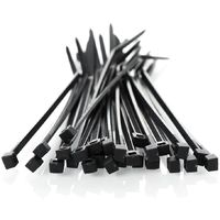 Cable ties 2,5 x 130mm UV Black 100 pcs