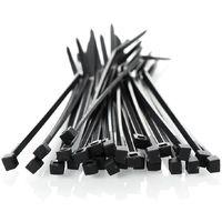 Cable ties 4,6 x 160mm UV Black 100 pcs