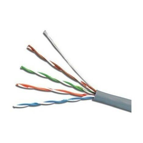 Cable U/UTP Cat. 5e PVC gris 305 metros