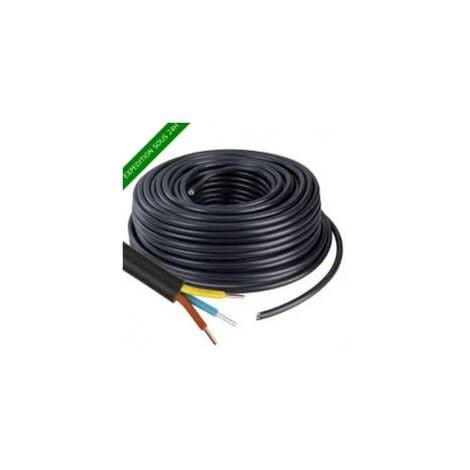 """main image of """"Câble U1000 R2V CU (Rigide) - 3G2.5 mm² - Couronne de 100m"""""""