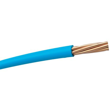 Cable unipolar flexible H07V-K azul