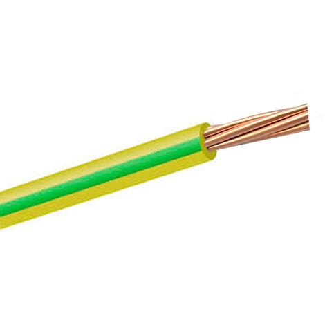 Cable unipolar flexible H07V-K tierra