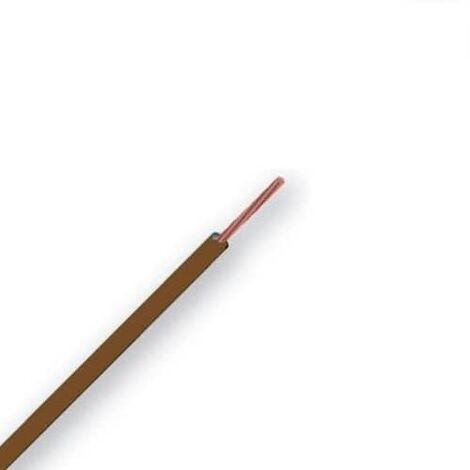 Cable unipolar H07V-K marrón 1,5mm