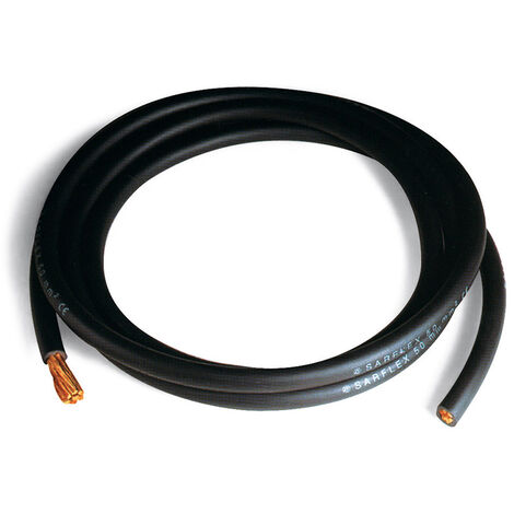 Cable unipolar maquina soldar sec. 70,00 mmq negro