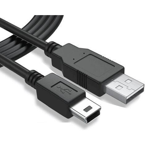 """main image of """"Cable USB 2.0 A/M-mini USB 5pin/M 5 M Negro"""""""