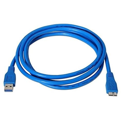 Cable USB 3.0 A/B-micro B/M 1 M Azul