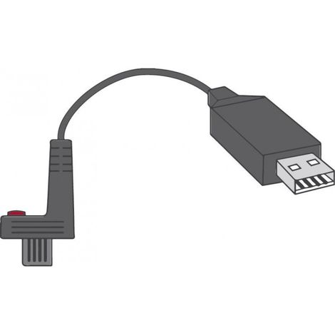 Cable USB con. Softw. HP