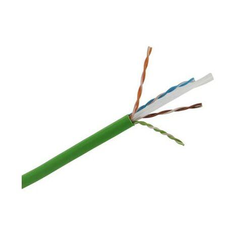 Cable UTP cat. 6 LSOH 4 pares 3M caja 305 metros