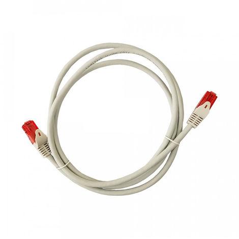Cable Utp Cat.6 Latiguillo Rj45 Cobre Lszh Gris 0.5M - NEOFERR