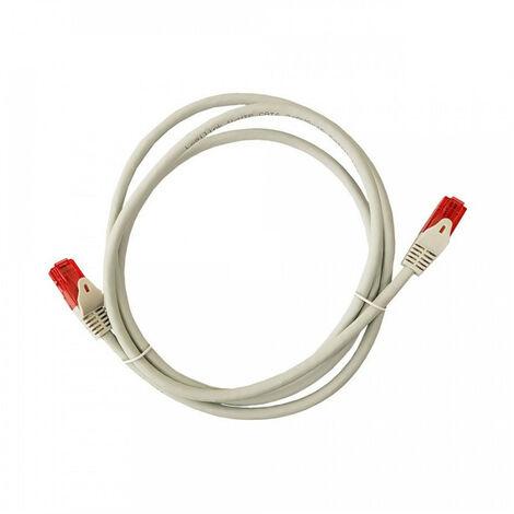 Cable Utp Cat.6 Latiguillo Rj45 Cobre Lszh Gris 1M - NEOFERR
