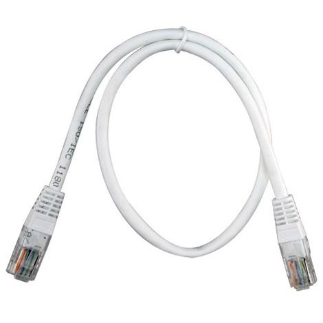 Cable UTP Ethernet Conectores RJ45 0.5m