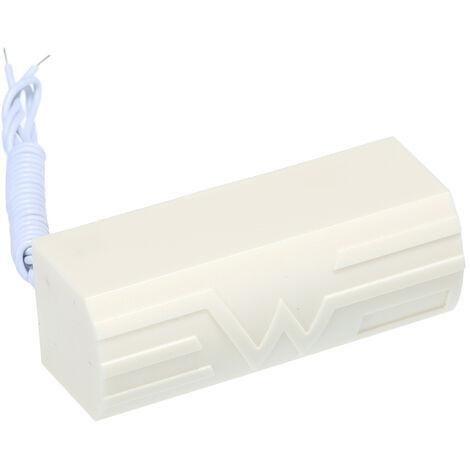 Cable Vibration Sensor Smart Digital Outdoor Vibration Shock Sensor White