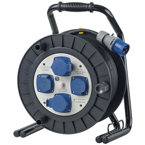 Câble Vimar industrielle 16A schuko 4 sockets 30MT 0P32761