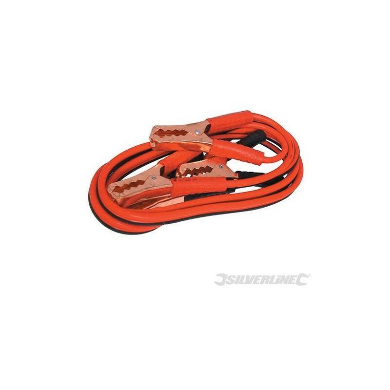 Silverline - Câbles de démarrage 200 A max., 2,2 m, 2.2 M