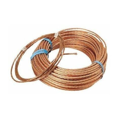 Cablette cuivre 25 mm t