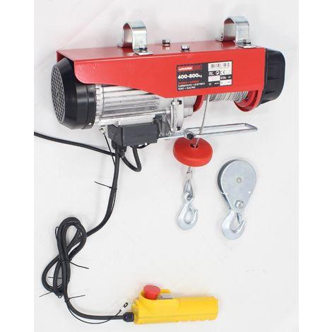 Cabrestante Electrico 400/800Kg Mader