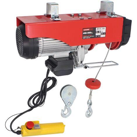 Cabrestante Eletrico, 495/990Kg - MADER® | Power Tools