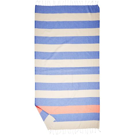 95 x 175 x 0.5 cm Orange CACALA Pure Series Set da Bagno e Asciugamano Turco Pezzi Cotone