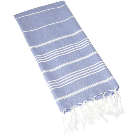 CACALA Pure Series turco asciugamani, Cotone, Grey Blue, 59 x 92 x 0.5 cm