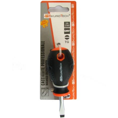 CACCIAVITE A TAGLIO SIKUROTECH 03160 GIRAVITE TG 6,5X38 PUNTA MAGNETICA
